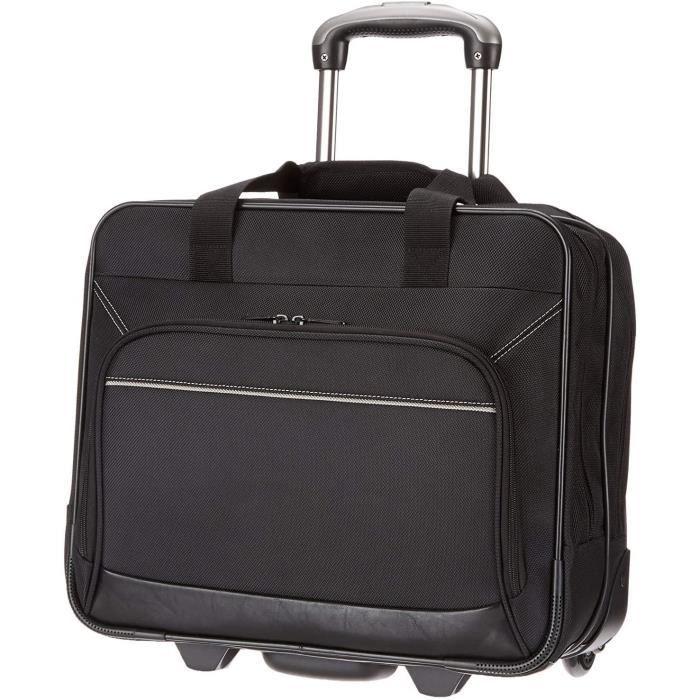 Peses bagages Basics Sacoche à roulettes pour ordinateur portable - Avec roulement rapide et poche avant facile d&rsquo146