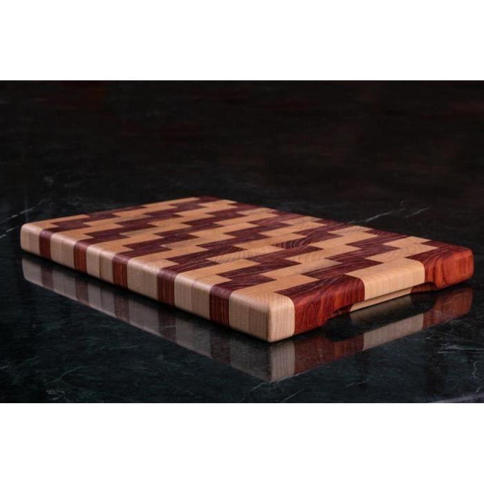 Planche à découper,Planche à découper à extrémité rectangulaire, bloc boucher de céréales, planches à découper - Type 28x40x3.5cm