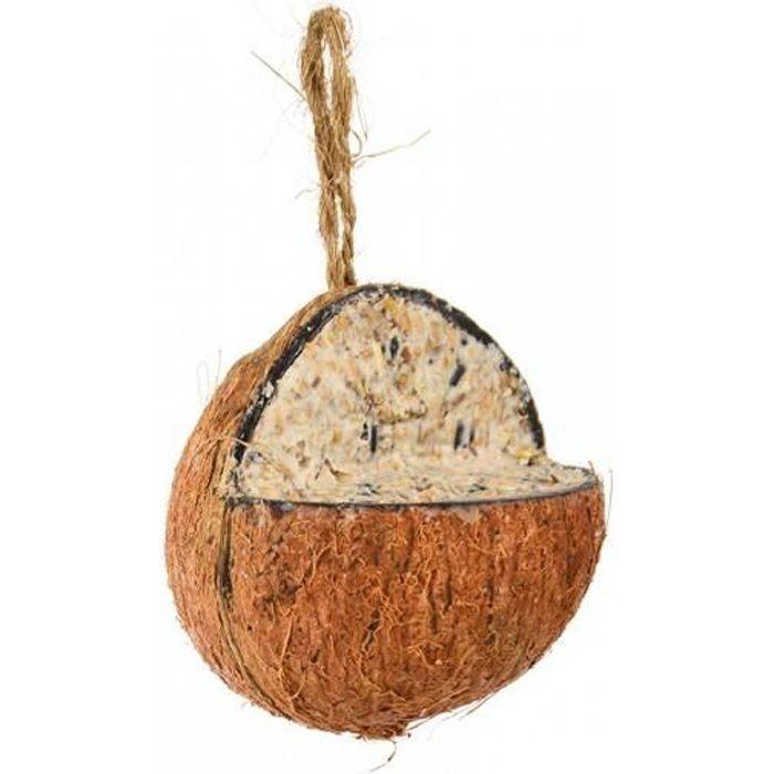 Graines oiseaux Noix de coco suspendre