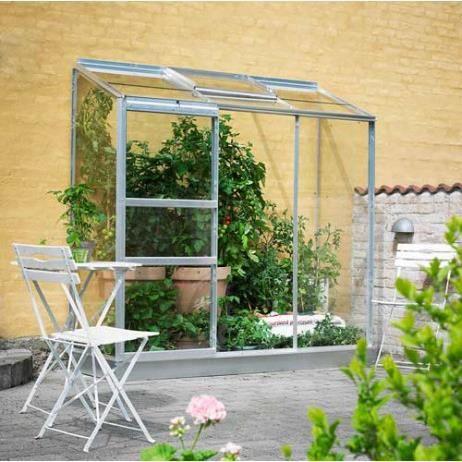 Altan 3 verre horticole , Couleur Vert, Base Avec base Longueur : 1,94 m, Largeur : 0,69 m