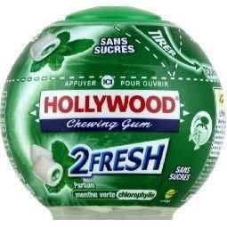 HOLLYWOOD 2Fresh Menthe Chlorophylle (x1)