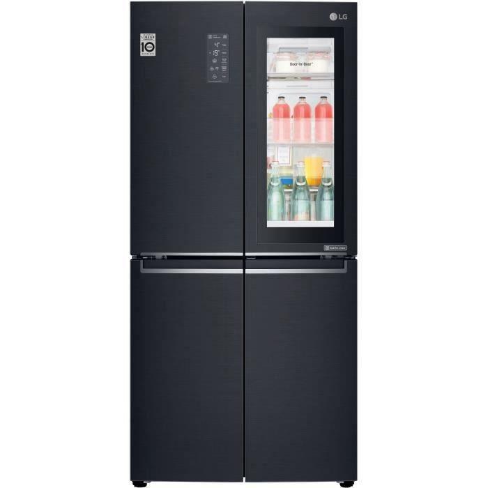 LG - GMQ844MCKV - Refrigérateur Multi portes - 458L (315L + 143L) - Total No Frost - A+ - L83,5cm x H178,7cm - Carbone