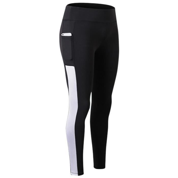 Collant Femme Jogging Yoga Legging Running Fitness Taille Haute