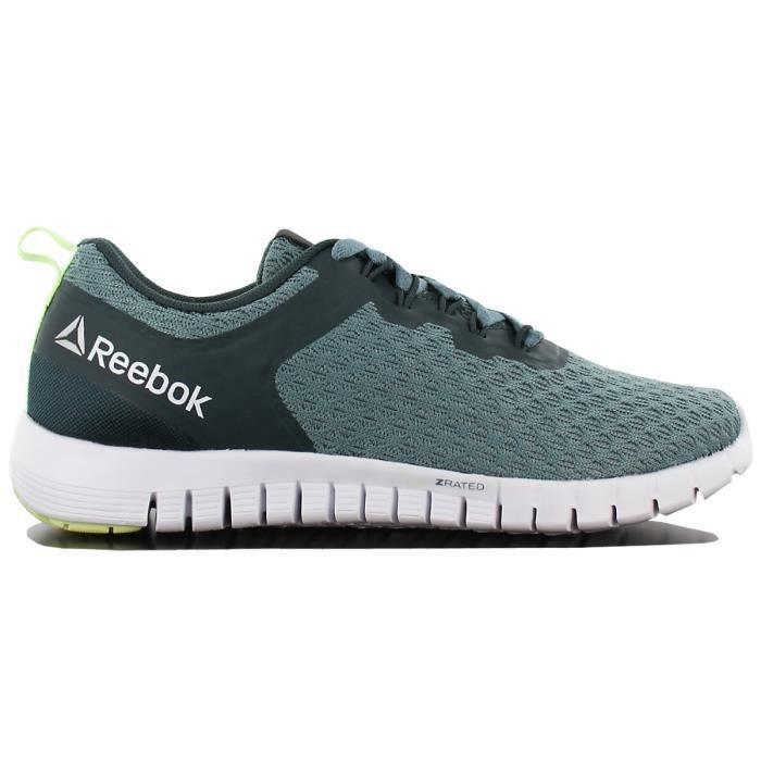 Reebok Zquick Lite AR2497 Femmes Chaussures Baskets Sneaker Vert