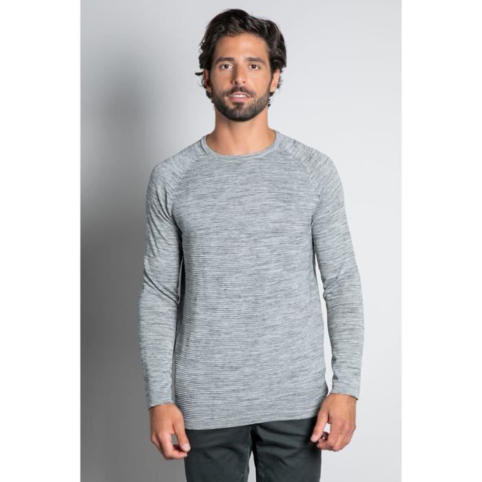 DEELUXE Pull uni col rond MITCHELL Grey