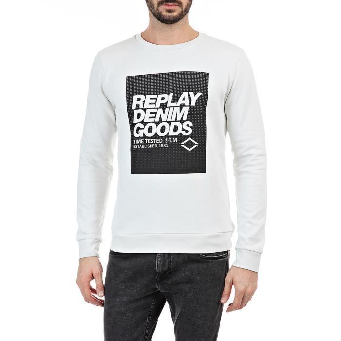 Replay Sweatshirt Homme M3218.000.21842-205