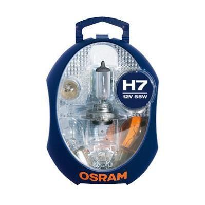 Coffret secours 6 ampoules voiture H7 12 Volts Osram Ref 876375