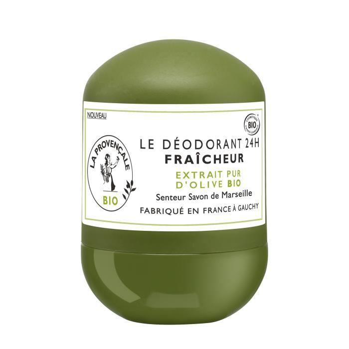 LA PROVENCALE Le Déodorant Fraîcheur senteur Savon de Marseille – 50ML