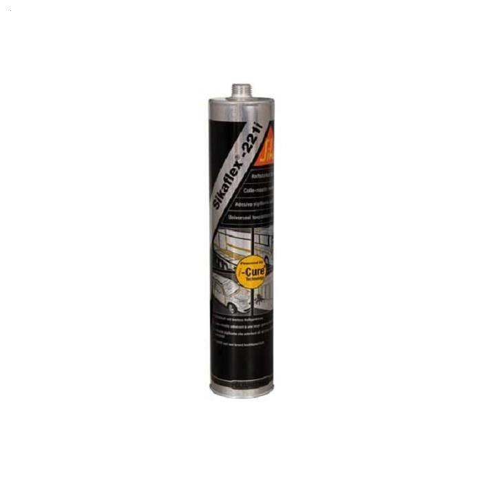 Colle-mastic polyuréthane 300ml Sikaflex 221i noire