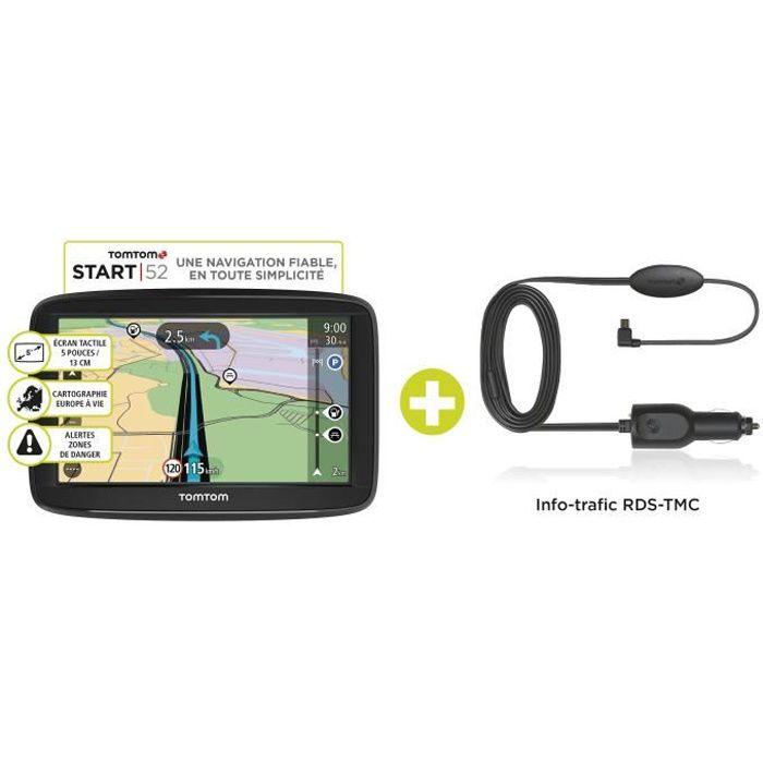 TOMTOM GPS START 52 Europe - 49 Pays - TMC