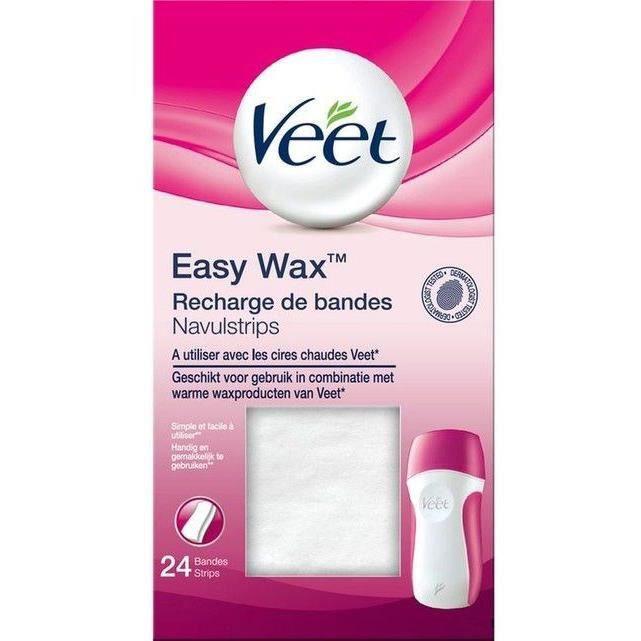 VEET Recharge de bandes EasyWax™