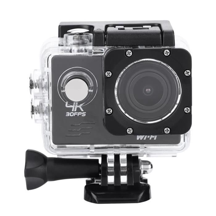 CAMÉRA SPORT WiFi Full HD 4K 16MP WiFi Action Sports Camera 30m