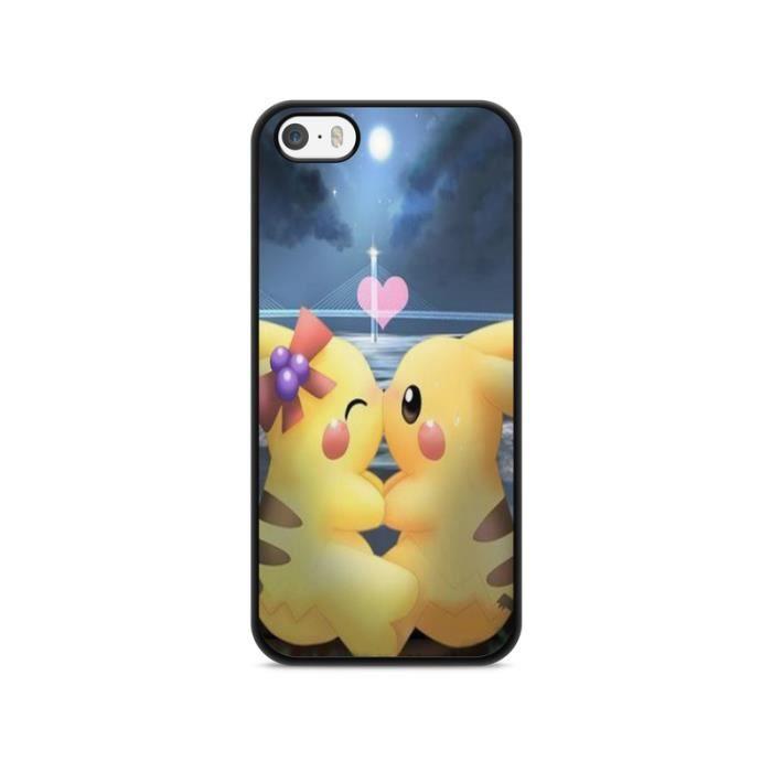 COQUE - BUMPER Coque Iphone 7 plus Pokemon go team pokedex Pikach