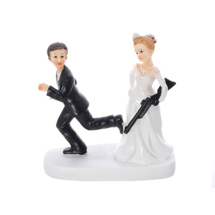 figurine dcor gteau mariage sujet figurine humour pice monte chasse - Figurine Mariage Humoristique Pas Cher