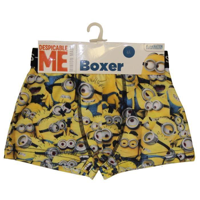 BOXER - SHORTY MINIONS Boxer - Imprimé - Garçon