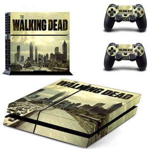 STICKER - SKIN CONSOLE Version DPTM0595 - The Walking Dead Ps4 Décalque D