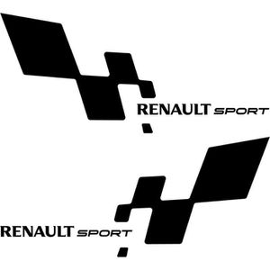 logo renault sport achat vente logo renault sport pas cher cdiscount. Black Bedroom Furniture Sets. Home Design Ideas
