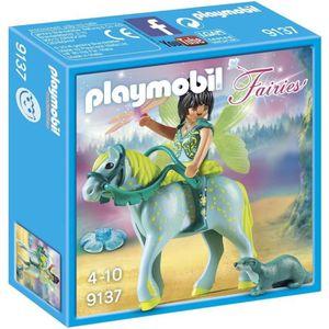 UNIVERS MINIATURE PLAYMOBIL 9137 - Fairies - Fée avec Cheval