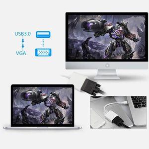 CÂBLE AUDIO VIDÉO USB 3.0 vers VGA multi-écran Adaptateur Convertiss