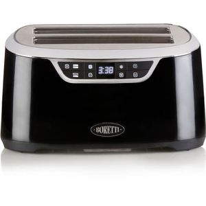 GRILLE-PAIN - TOASTER BORETTI B300 Grille pain XL - 2 fentes : 4 toasts