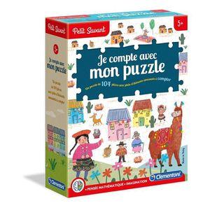 JEU D'APPRENTISSAGE CLEMENTONI Petit Savant - Je compte avec mon puzzl