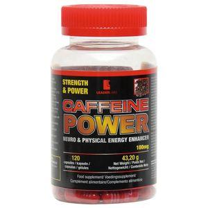 STIMULANT HORMONAUX CAFFEINE POWER. 100mg. 120 gélules