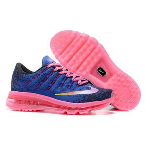 look good shoes sale hot sale sneakers for cheap Nike Air Max 2016 Femmes Baskets Chaussures de running bleu et ...