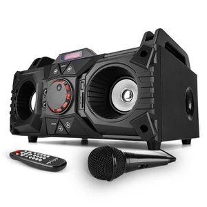 ENCEINTE ET RETOUR Enceinte karaoke mobile 200W - USB-SD-BLUETOOTH +