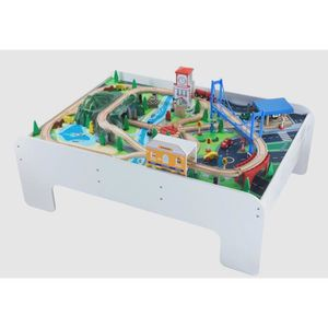 table circuit train achat vente jeux et jouets pas chers. Black Bedroom Furniture Sets. Home Design Ideas
