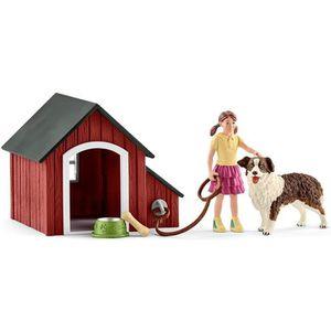 FIGURINE - PERSONNAGE Schleich Figurine 42376 - Animal de la ferme - Nic