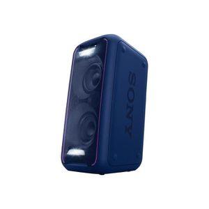 ENCEINTES Sony GTK-XB5 - Haut-parleur - sans fil - bleu