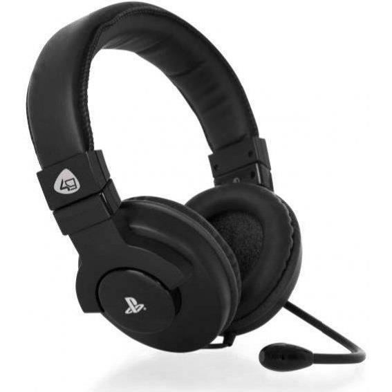 Casque Stereo Gaming pour PS4 Noir