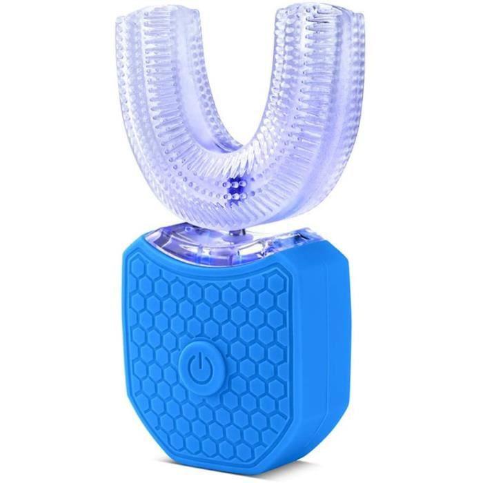 Brosses à dents électriques JAY-LONG Brosse À Dents Buccale Électrique À 360 ° pour Adultes-Brosse À Dents À Ultrasons R 89433