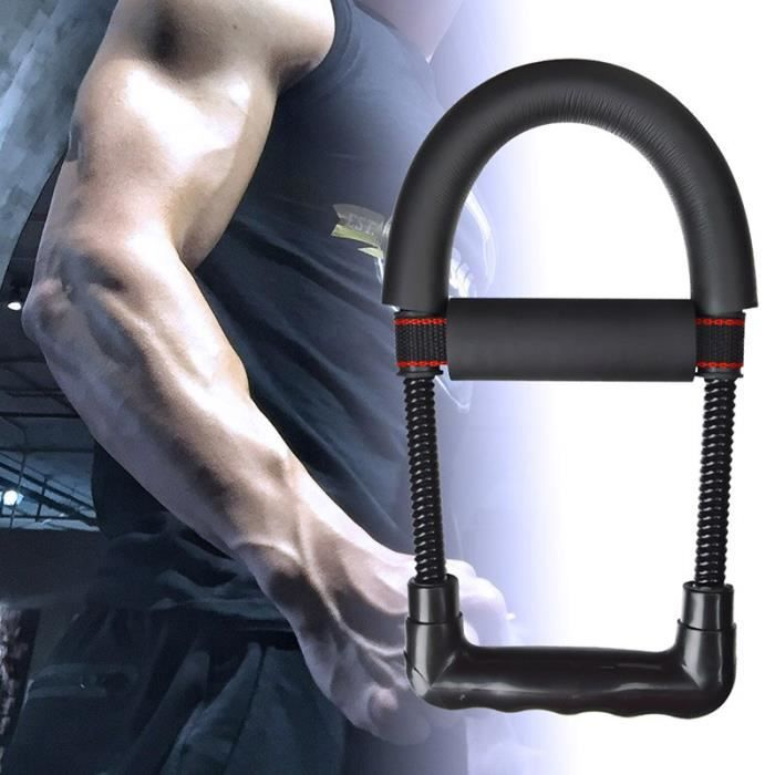 Accessoires Fitness - Musculation,Abzb poignet poignée bras main pince avant bras dispositif intérieur équipement de - Type Black