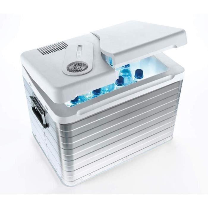 Mobicool Q40 Glacière Électrique Portable, 39l, 12-230v, 20°C En Dessous De La Température Ambiante, P390xh440xl580mm, Norme Fr,