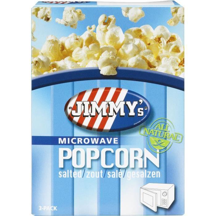 Pop corn Micro onde salé 3x90g