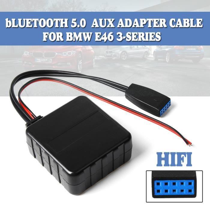 TEMPSA Adaptateur bluetooth AUX Câble Module Pour BMW E46 3-SERIES 320i 320ci 320cic