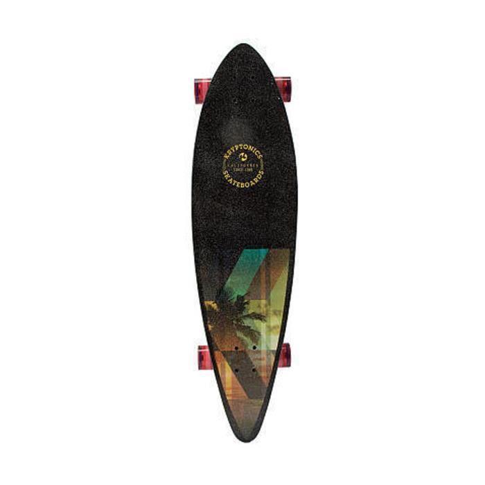 KRYPTONICS Skateboard Longboard Pintail Slanted 37''
