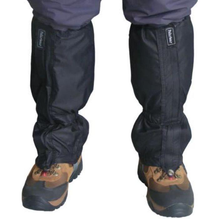 TRIXES 1 paire de guêtres imperméables pour la randonnée , l'escalade , la marche, la neige , le camping et la randonnée