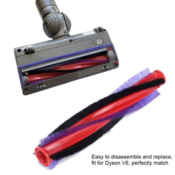 VINGVO Accessoires de remplacement de brosse à rouleau pour Dyson V6 pièces d'aspirateur