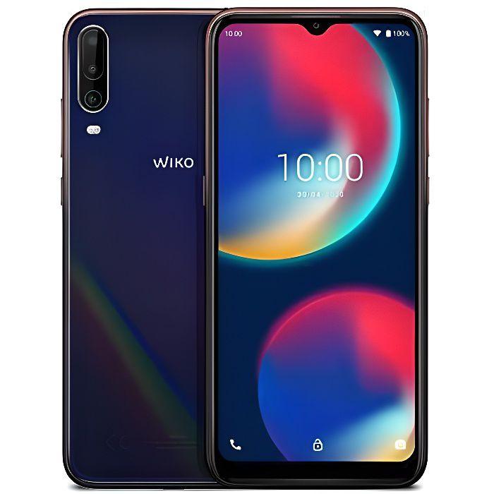 Wiko View4 Smartphone débloqué 4G (Ecran 6, 52 Pouces - 3 Go RAM - 64 Go Stockage - Octa-core - Android 10)