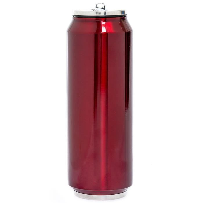 YOKO DESIGN - CANETTE ISOTHERME ROUGE 700 ML NEURE Rouge
