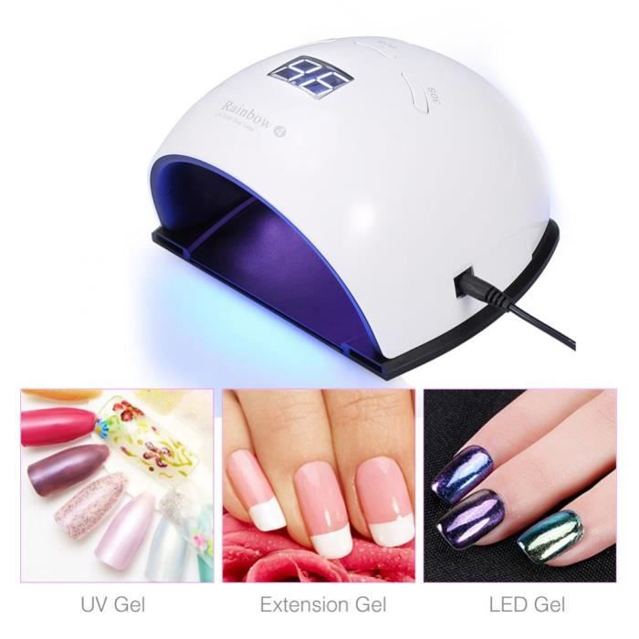 Lampe Uv 48w Ongles Sèche Vernis Manucure Pour À Led Nail Outil n0OwPNkX8