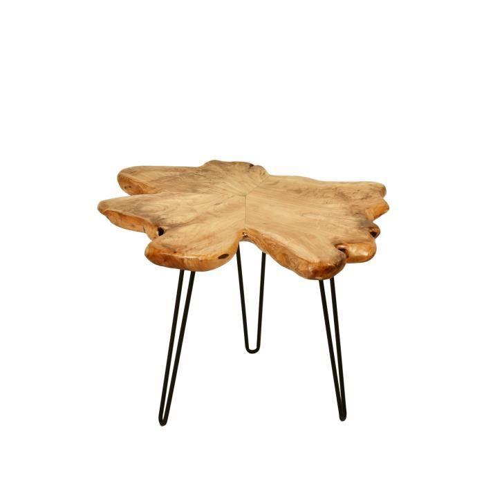 Table En Forme De Tronc D Arbre Achat Vente Table D Appoint