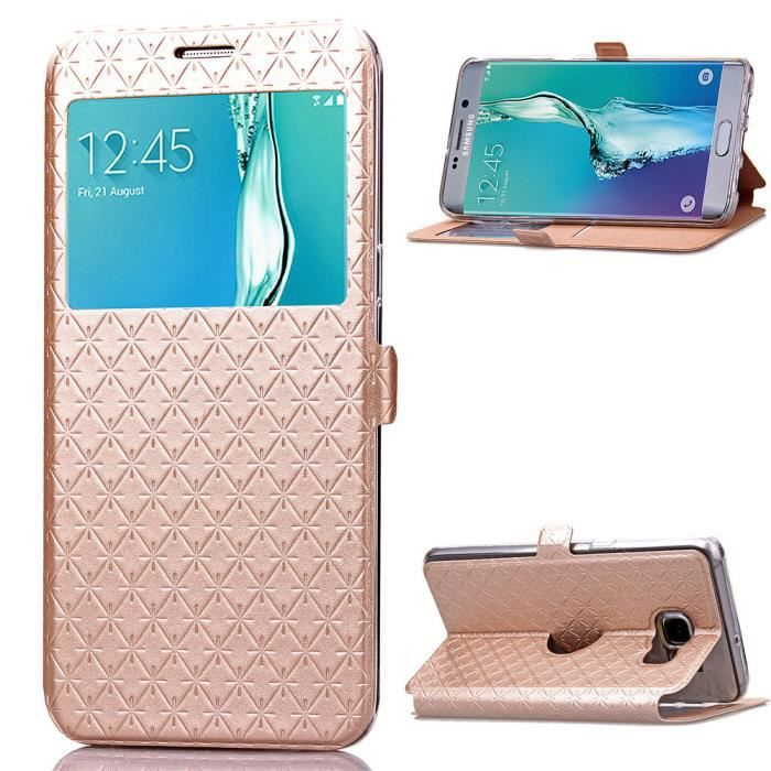 coque etui galaxy s6 edge