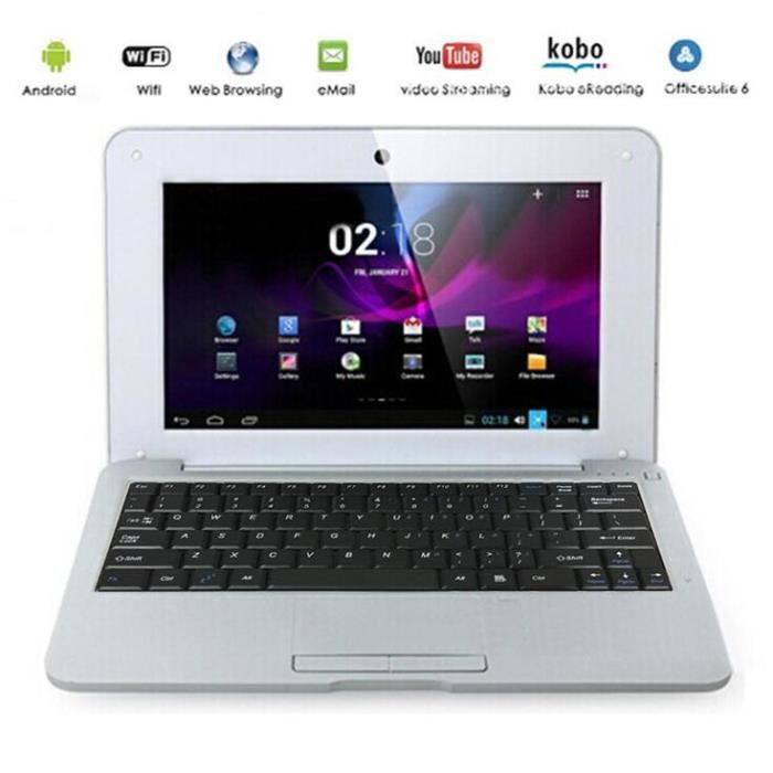 pc portable netbook 10 pouces avec wifi prix pas cher cdiscount. Black Bedroom Furniture Sets. Home Design Ideas