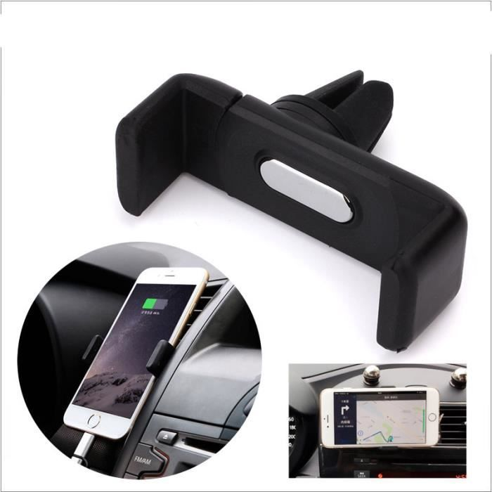 mini support telephone voiture pour universel mobile iphone 6s achat vente porte t l phone. Black Bedroom Furniture Sets. Home Design Ideas