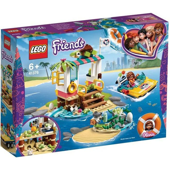 Photo de lego-friends-41376-la-mission-de-sauvetage-des-tortues
