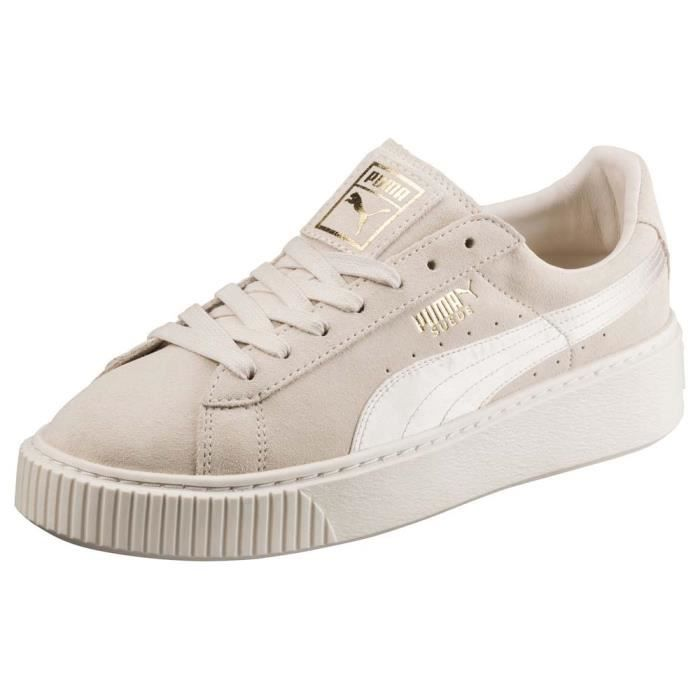 newest collection b6d46 075cc BASKET Chaussures femme Baskets Puma Suede Platform Mono
