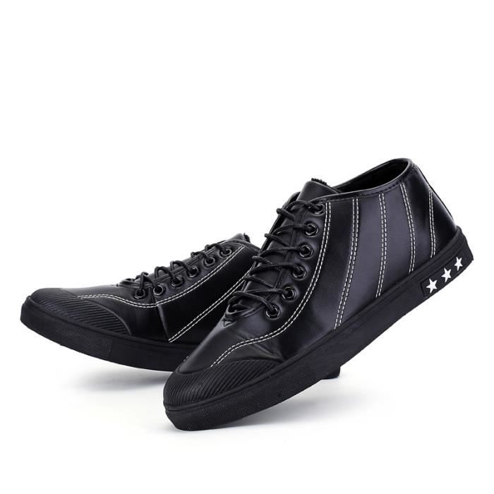 chaud Korean Skateshoes StyleSkater taille44 noir Fashion Homme fqfZwT8